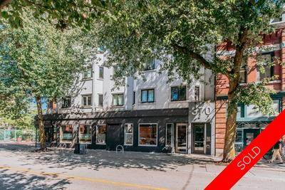 Tasteful Living in Downtown Vancouver in Refurb Gastown Style Building Condominium for sale:  2 bedroom 789 sq.ft. (Listed 2018-09-20)